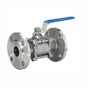 3PC Flange Ball Valve con Mounting Pad